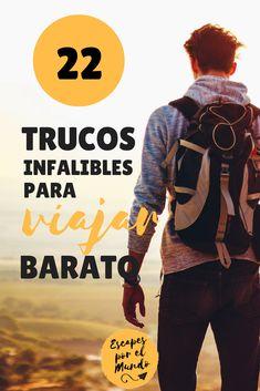 Truscos para viajar más barato por el mundo #viajes #viajesporelmundo #travel #travelblogger