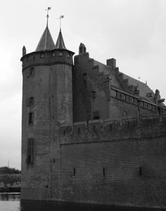 the side of the castle