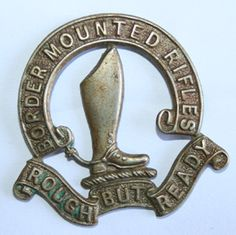 Border Mounted Rifles Collar Badge. Worn 1902-1913