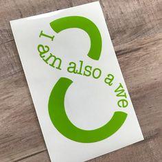 I am also a we #sense8 #decals