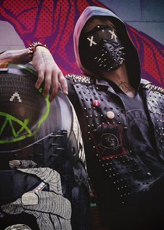 Wrench Watch Dogs 2, Watch Dogs 1, Arte Cyberpunk, Graffiti Wallpaper, Classic Horror Movies, Gaming Wallpapers, Doll Parts, Handsome Anime, Red Riding Hood