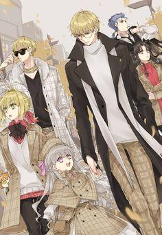 Fate詰め Anime Love, Anime Guys, Manga Anime, Anime Art, Fate Zero, Gilgamesh And Enkidu, Character Art, Character Design, Fate Stay Night Anime