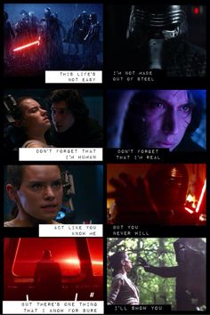 "Kylo Ren & Rey ""I'll show you"" by Justin Bieber"
