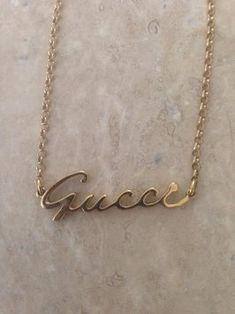 Gucci Gucci 14k Gold Necklace