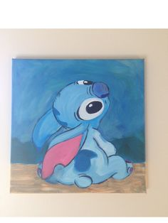 Lilo & Stitch Disney Inspired Painting by RachaelEmeliaEvents