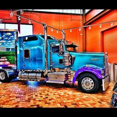 Kenworth inside the Joplin Missouri Petro Travel Center