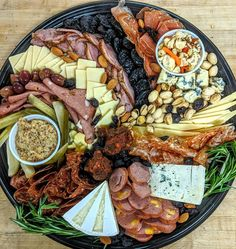 Need a charcuterie platter?... We can help... Call or email us! . . . #charcuterie #charcuterieboard #salami #salame #salumi #salume #sausage #cheese #deli #food #forkyeah