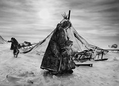 Siberia by Sebastião Salgado For his latest epic project, Genesis, photographer Sebastião Salgado spent eight years documenting parts of the world untainted by modern life. Here, he shares the images he took of the nomadic Nenets of northern Siberia Documentary Photographers, Great Photographers, Edward Weston, Arctic Circle, Berenice Abbott, Siberia Russia, Ansel Adams, Travel Photographer, Photojournalism