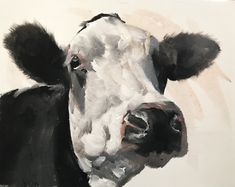Cow Painting, Cow Art, Cow PRINT - Cow Oil Painting, Holstein Cow, Farm Animal Art, Farmhouse Art, Prints of Farm Animals, Farm Wall Art by JamesCoatesFineArt2 on Etsy Swan Painting, Cow Painting, Wine Poster, Dog Poster, Pictures To Paint, Dog Pictures, Holstein Cows, Cow Art, Couple Art