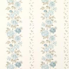 papel pintado clarissa azul verdoso