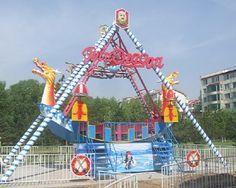 boat ride amusement parkswinging pirate ship ride