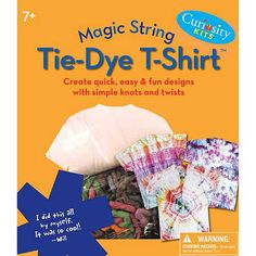 Magic String Tie-Dye T-Shirt Craft Kit