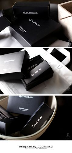LEXUS Package Design  by dcorising.co.kr Seoul, Korea  렉서스 박스패키지 제작  디코라이징