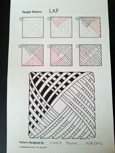 De Judy Zentangle Creaciones: Patrones Zentangle