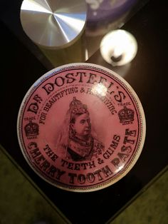 DR DOSTEEL'S CHERRY TOOTH PASTE. A LOVELY LID. | eBay! Tooth Paste, Pot Lids, Gum Paste, Cherry, Personalized Items, Ebay, Sugar Paste, Fondant, Cherries
