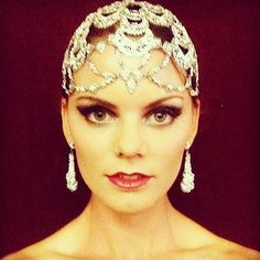 Jewel Cap by Maria Elena Headpieces