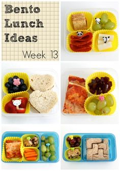 Bento Lunch Ideas: Week 13 - Smashed Peas and Carrots
