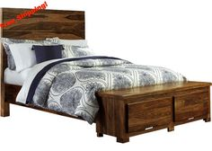 If you've ever opened your home to host a family party, you know the anxiety that goes along with it. http://www.reecefurniture.com/products/1406bkrs-madera-storage-bed-set-king-rails-included?utm_campaign=social_autopilot&utm_source=pin&utm_medium=pin