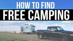 How to Find Free Camping? | Boondocking & Dry Camping Resources | Fullti...