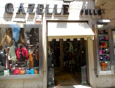 Italian leather goods in brilliant colors.  Rome. July 2013