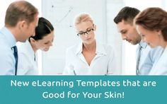 We've got player skins, draggers, and a layout in this week's new eLearning templates!