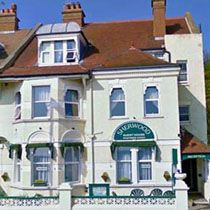Sherwood Guest House, Hastings, East Sussex, opposite beach with rooms from £30 per night. See http://www.staysoutheast.com/sse/index.php?id=1195# for more details.