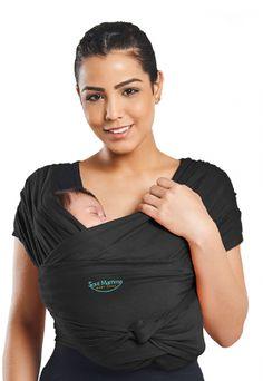 Sling Soul Mamma Pronto Ergonômico Puro Algodão Preto Baby Sling, Sites, Tropical, Products, Black Cotton, Baby Bjorn, Tejido, Tecnologia, Gadget