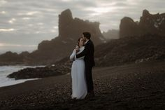 Winter Elopement In Iceland // Lizzie & Sam - Fine Art Scotland Wedding Photographer | The Kitcheners