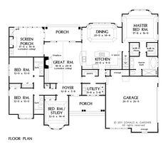 Open Floor Plan - Ranch