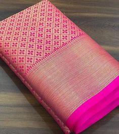 Patola silk Saree with Blouses Indian Bridal Sarees, Bridal Silk Saree, Indian Silk Sarees, Saree Wedding, Ethnic Sarees, Wedding Wear, Banarsi Saree, Silk Saree Kanchipuram, Wedding Saree Blouse Designs