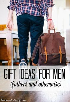 Men are notoriously hard to shop for. Here are a few low-key ideas for the hard-to-buy-for man in your life. (No ties here, just stuff he'll actually appreciate.)