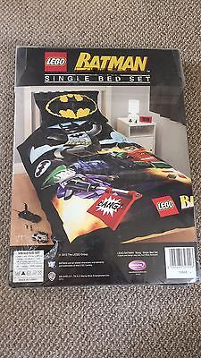 Lego #batman #single bed set. new in #packaging. ,  View more on the LINK: http://www.zeppy.io/product/gb/2/142151838359/