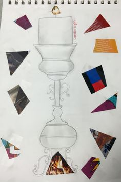 "Visual Journals #6 - Intro Art - ""Invent An Object"" - NGHS Room 406"