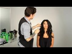 ▶ How to Do a Roller Set With Hot Curlers - YouTube