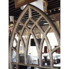 Gothic window shape for headboard