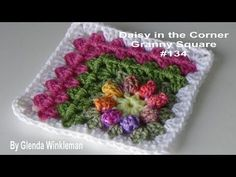 How to crochet a dishcloth / washcloth - Easy step by step for beginners (sunny waves) - YouTube