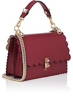 d48ecd01342b Fendi Women s Kan I Leather Shoulder Bag - Red
