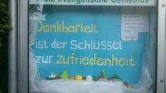 Schaukasten - FeG Breidenbach