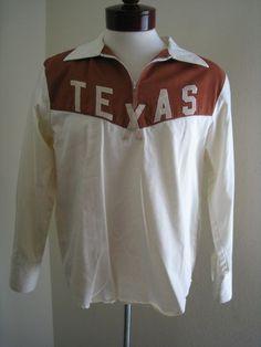 Men's L Western Shirt Zip Front Texas Indie Festival Custom Faux Vintage Red/Tan Cowboy