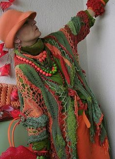 Mizzie Morawez, have you heard of her? - CROCHET her pieces are wonderful