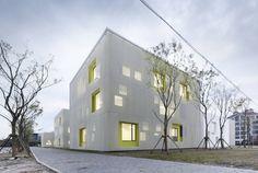 Architects: Atelier Deshaus- Liu Yichun, Chen Yifeng  Location: Huake Rd, Qingpu, Shanghai, China