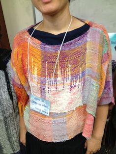 CENTERING WITH FIBER: Final day of the Saori LA workshop 2012