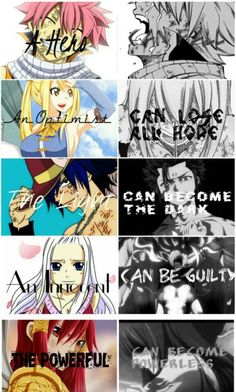 A hero Can fail An optimist Can lose all hope The light Can become the dark An innocent Can be guilty The powerful Can become powerless - Fairy Tail Guild Fairy Tail Nalu, Fairy Tail Ships, Arte Fairy Tail, Fairy Tail Meme, Fairy Tail Quotes, Fairy Tail Comics, Fairy Tail Guild, Anime Fairy, Me Anime