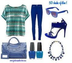 reat blue outfit