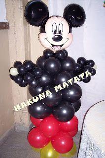 Hakuna Matata Eventos: MUÑECO MICKEY