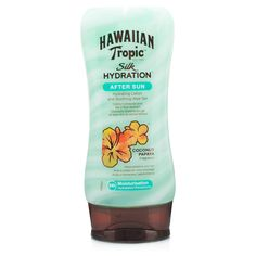 Hawaiian Tropic After Sun- this smells great and a super nice light moisturizer #influenster #surfsupvoxbox
