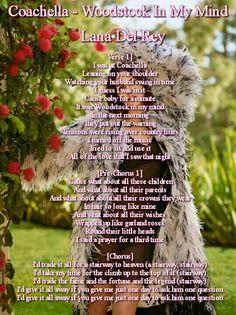 Lana Del Rey # Coachella-Woodstock_In_My_Mind