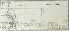Carta de España de Bachiller con todas sus posesiones de ultramar e islas adyacentes 1858, Fragmento