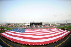 American Flag at Daytona International Speedway