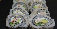 Fabulosa receta para California Roll Sushi | Fácil y paso a paso. Mira la receta…